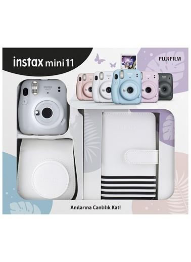 Fujifilm İnstax Mini 11 Laporta Albümlü Beyaz Kit Beyaz